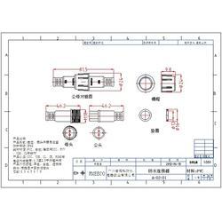 睿玛科(多图)、防水dc插头、乌鲁木齐防水插头图片