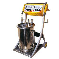 静电喷涂设备|铝轮毂静电喷涂设备|浩伟电子设备图片