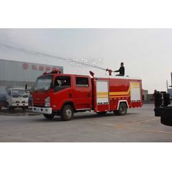 五十铃消防车图片
