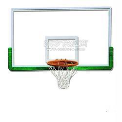 篮球架生产厂家供应结实耐用钢化玻璃篮球板图片