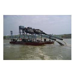 抽沙船用途|西安抽沙船|海天机械厂图片