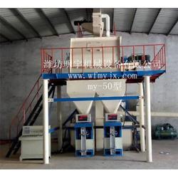 潍坊明宇|无机保温砂浆生产设备|保温砂浆生产设备图片