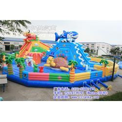 如何设计大型充气城堡乐园 趣味竞技性儿童娱乐充气城堡蹦蹦床图片