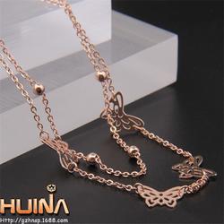 坚艺饰品(图),钛钢项链,钛钢项链图片