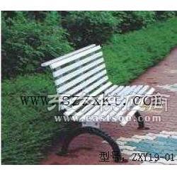路边坐的椅子-书房休闲椅-铁架休闲椅-振兴景观图片