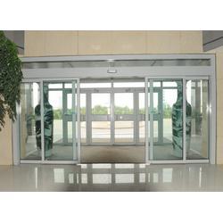 开祥防铜感应门 不锈钢感应门安装-感应门图片