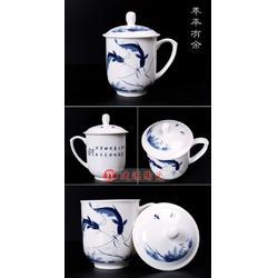 公司加商标定做喝水杯 陶瓷茶杯保温杯生产厂家图片