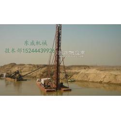 产量高、抽深范围大,适合于有厚泥层、夹泥层水域的抽沙船-钻探式抽沙船-东威制造图片