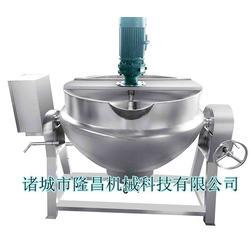 电加热搅拌夹层锅商、诸城隆昌机械(图)图片
