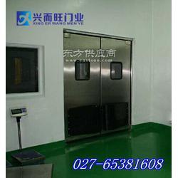 不锈钢防撞门-不锈钢对撞门-304材料-不锈钢自由门-兴而旺厂家图片