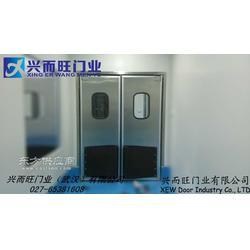 供应不锈钢自由门-生产不锈钢防撞门-不锈钢撞击门-品质保证图片