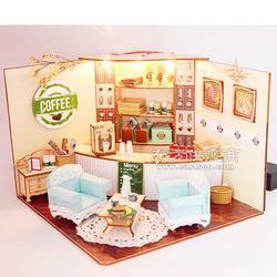 欢乐拼图BM525哥伦比亚咖啡厅 DIY礼品图片