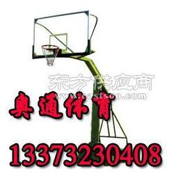 凹箱仿液压篮球架,篮球架厂家,学校广场社区广场篮球架供应商图片