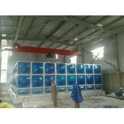 103立方不锈钢水箱-大丰水箱供应-晋中不锈钢水箱图片