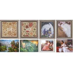 共享油画(图),走廊油画,油画图片