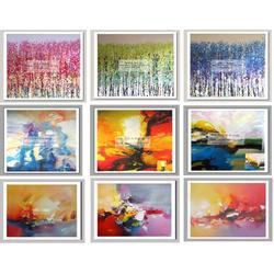 共享油画(图)|无框油画供应|无框油画图片