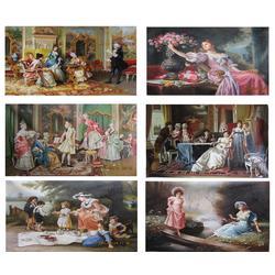 共享油画(图)|厚油人物油画|人物油画图片
