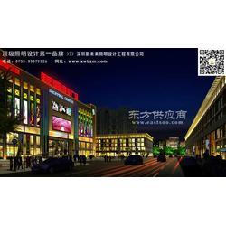 購物廣場照明設計圖片
