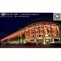 商业街亮化规划图片