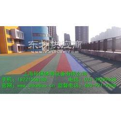 供应优质硅PU塑胶跑道品质保证图片