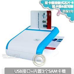 ACR33U-A1智能IC芯片卡双卡插槽读写器读卡器图片