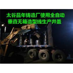 球墨铸铁井盖厂|太谷昌年铸造有限公司|运城铸铁井盖图片