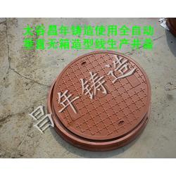球墨铸铁井盖厂-山西昌年铸造-湖北铸铁井盖图片
