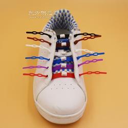 厂家直销 多色硅胶懒人免系鞋带 懒人专利产品 硅胶鞋带子图片
