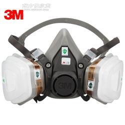 3M6200防毒面具配3m6002CN滤毒盒图片
