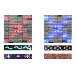 金子霖发光瓷砖,大型商场发光波打线,德州发光波打线图片