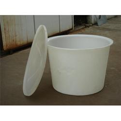 厂家食品级酸菜发酵泡菜桶 酱菜腌制白色塑料圆桶图片