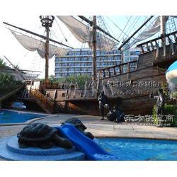 木制景观船-景观船定制-景观船制造-振兴景观图片