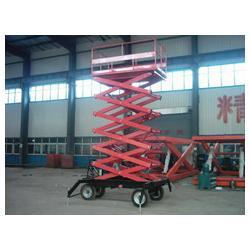 卓力升降机械 山东移动式升降机-章丘市移动式升降机图片