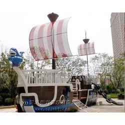 游乐场观赏船-乐园游玩船-实木景观大船-振兴景观图片