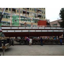 观光木船之家-景观船供应-防腐景观船-木制海盗船-振兴景观图片