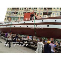 水上观赏船-水上景观船-景观船厂家-木船定制-振兴景观图片
