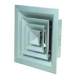 铝合金方形散流器厂家,二道江方形散流器,燕达空调设备经久耐用图片