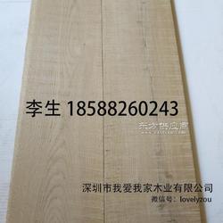 橡木烟熏锯齿地板,服装店北欧风白橡木三层多层实木复合地板,饰面板图片