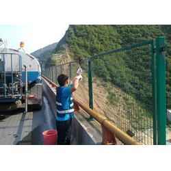 工厂隔离铁丝网、苏州铁丝网、绿色包胶铁丝网(多图)图片