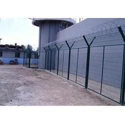 湖南湘西围栏网、三角折弯、工地围栏网图片