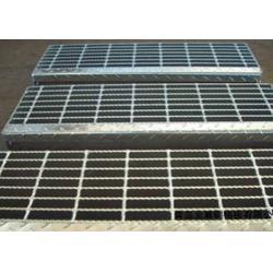 宏特格栅板、踏步格栅板、热镀锌踏步格栅板图片