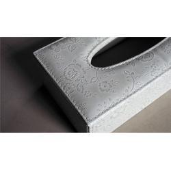 皮革纸巾盒量身定做 永世嘉箱包厂 皮革纸巾盒公司图片