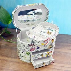 揭阳皮革珠宝盒、皮革珠宝盒定做(图)、永世嘉箱包厂图片