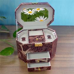 皮质首饰盒,永世嘉首饰盒厂(在线咨询),皮质首饰盒订做图片
