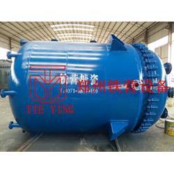 反应罐厂家、周口反应罐、郑州铁营设备(查看)图片