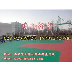 澄城塑胶球场铺设,凌风体育,塑胶球场铺设图片