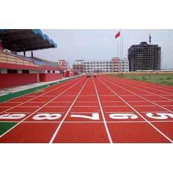 铜川塑胶跑道铺设、凌风体育(在线咨询)、塑胶跑道铺设图片