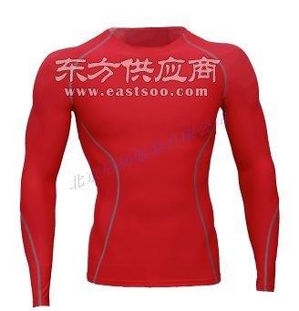 订做紧身衣长袖篮球训练服高弹力速干健身衣