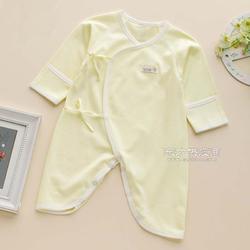 专业生产无骨缝制和尚服新生儿衣服纯棉图片