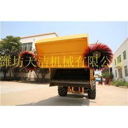 工程砂石扫路机_天洁机械_扫路机图片